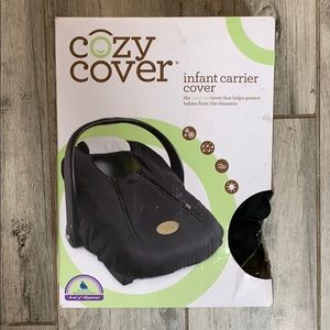 Cozy Cover Infant Carrier Cover - Black
